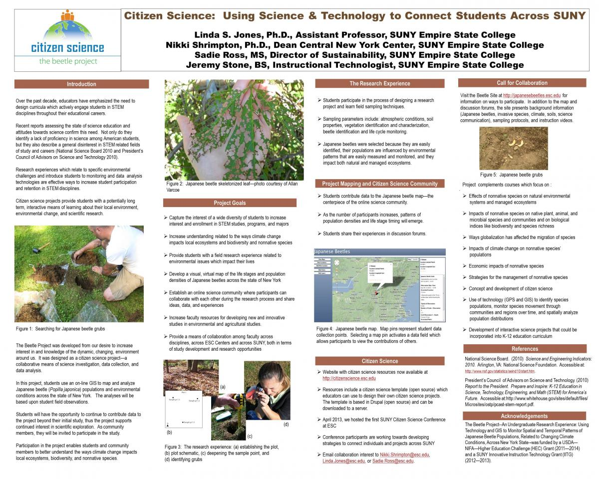 The Beetle Project Poster Presentation